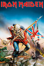 "IRON MAIDEN POSTER ""THE TROOPER"" LICENSED ""BRAND NEW"""