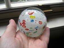 STUNNING MURANO ART GLASS HAND MADE PAPERWEIGHT EX COND.