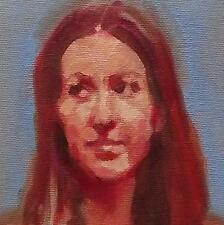 Look of Disdain : Original Impressionist Oil Painting on Canvas : Greg Fenwick