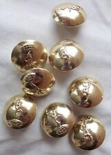 SET OF 8 AUSTRALIAN ARMY SIGNAL CORPS UNIFORM BUTTONS
