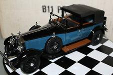 Franklin Mint 1:24 Scale 1929 ROLLS-ROYCE PHANTOM I CABRIOLET DE VILLE (BLUE)