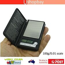 Mini Pocket Digital Book Style Scale Ultrathin 100g/0.01 Light Weight