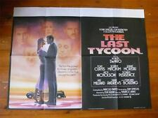 The Last Tycoon ~ Original Quad Poster 1976 ~ Robert De Niro / Tony Curtis