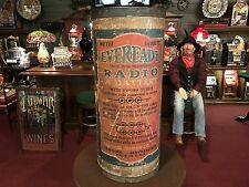 """1925 EVEREADY Battery Retail Store Display 30"""" """" Watch Video"""""""