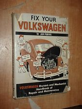 FIX YOUR VW BUG KARMANN GHIA SQUAREBACK BUS BEETLE SERVICE MANUAL SHOP BOOK 1966