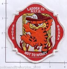 New York City NY Fire Dept Ladder 55 Patch v2