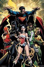 JUSTICE LEAGUE - POWER POSTER - 22x34 BATMAN SUPERMAN WONDER WOMAN 15134