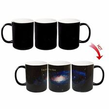 █ You are here Galaxy Hot Water Color Change Magic Coffee Cup Mug BS045