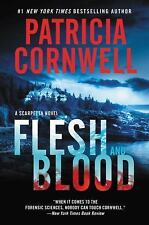 Flesh and Blood: A Scarpetta Novel-ExLibrary
