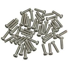 50Pcs New 304 Stainless Steel M2 x 6mm Head Metric Machine Screws Bolts