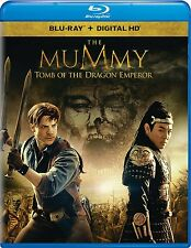 THE MUMMY: TOMB OF THE DRAGON EMPEROR BLU-RAY - BRENDAN FRASER