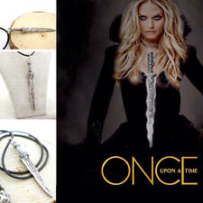 Free Shipping Once Upon a Time inspired Dark Swan Dagger Necklace