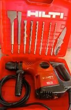 HILTI TE 16 HAMMER DRILL, IN GOOD CONDITION,FREE BITS AND CHISELS, FAST SHIPPING