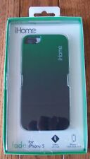 iHome FADE case for iPhone 5 GREEN/BLACK IH-5P102E ~ NIB
