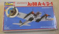 1/72 scale: Revell: Junkers Ju 88 A-4/D-1 Kit # 4130, 1983, Made in Germany