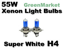 Toyota 98-02 Corolla CE/LE/S High/Low Beam H4 Xenon -55w Super White Bulbs-