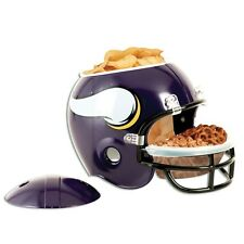 MINNESOTA VIKINGS FULL SIZE SNACK HELMET BRAND NEW FREE SHIPPING