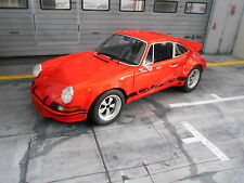 PORSCHE 911 Carrera RSR 2.8 Breitbau orange 1974 Resin GT Spirit NEU NEW 1:18