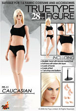 HOT TOYS TTF11 TRUETYPE FIGURE FEMALE BODY CAUCASIAN BLONDE 1/6 GIRL VMF50 BJD