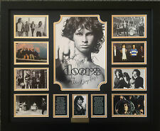 THE DOORS JIM MORRISON SIGNED LIMITED EDITION FRAMED MEMORABILIA