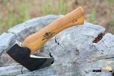 Gransfors Hand Hatchet Swedish Axe 413 + Leather Sheath + Guaranty Sweden Made