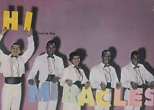 "SMOKEY ROBINSON ""HI WE'RE THE MIRACLES"" LP FIRST MOTOWN RELEASE UK IMPORT"