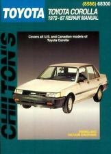 Toyota Corolla, 1970-87 (Chilton Total Car Care Series Manuals)-ExLibrary