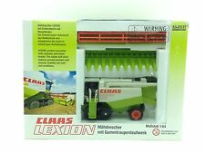 1/64 NORSCOT CLAAS LEXION 460 COMBINE W/ TWO HEADS
