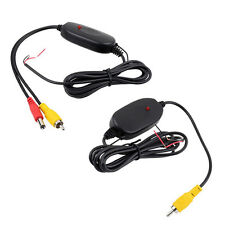 Useful 12V 2.4G Wireless Transmitter&Receiver for Car Reverse Rear View Camera