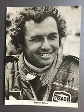 Porsche Race car Driver Jochen Mass Postcard RARE!! Awesome