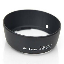 Black Lens Hood For Canon EOS 700D 650D 600D 500D 550D 18-55mm EW-60C Accessory