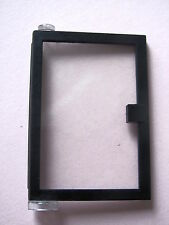 LEGO 73436c01 @@ Door 1 x 4 x 5 Left Clear Glass Black 6394 6398 6540 6566