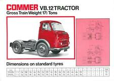 Paese per VB.12 TRATTORE-CAMION TRUCK Brochure-bx102