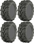 Four 4 ITP Mud Lite XTR ATV Tires Set 2 Front 25x8-12 & 2 Rear 25x10-12 MudLite