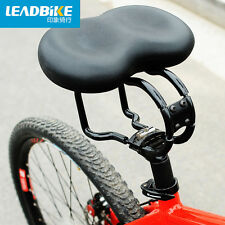 Bicycle Saddle Soft Full Black Cycling Mountain Road Bike Saddle Seats Cushion
