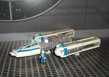 STAR WARS ACTION FLEET BLUE  LEADER Y-WING FIGHTER SQUADRON COLORS VARIANT