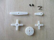 Es09 recambio ruderhörner y tornillos para Emax es09md y es09ma micro servo