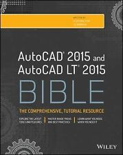 AUTOCAD AND AUTOCAD LT BIBLE - LEE AMBROSIUS ELLEN FINKELSTEIN (PAPERBACK) NEW