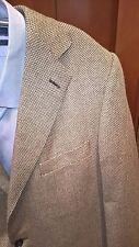 Ermenegildo Zegna Cashmere/Silk Gray Sport Coat, Size 46L - Italy