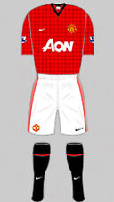 Boys FOOTBALL SHIRT & PANTALONCINI KIT-Manchester United Home - 2012-NIKE-XL
