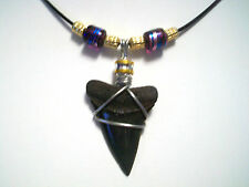 AWESOME MAKO SHARK TOOTH SURFER BEACH WEAR NECKLACE JUST WENT ON SALE NOW