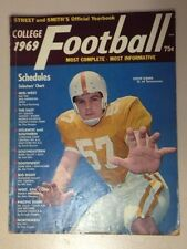 Rare Vintage College 1969 Football Magazine - Street & Smith's Official Yearbook