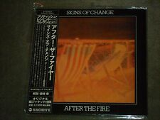 After The Fire ‎Signs Of Change Japan Mini LP Bonus Tracks