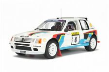 Otto-Models Peugeot 205 t-16 1.000 Lakes 1984 Model bus at 1:38 scale 1/18, New