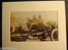 1908 GRAND PRIZE AUTO RACE-CARS & DRIVERS SCENES, SAVANNAH, GA., Print