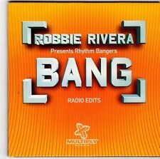 (EM651) Robbie Rivera presents Rhythm Bangers, Bang - 2000 DJ CD