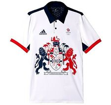 Rio 2016 team gb jeux olympiques climachill polo adidas great britain bnwt l