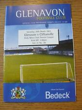29/03/2003 Glenavon v Cliftonville  (No obvious faults)