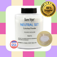 100% GENUINE BEN NYE COLOURLESS  TRANSLUCENT NEUTRAL SET POWDER - LOOSE SAMPLE