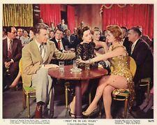 DAN DAILEY CYD CHARISSE MEET ME IN LAS VEGAS 1956 VINTAGE LOBBY CARD ORIGINAL #2
